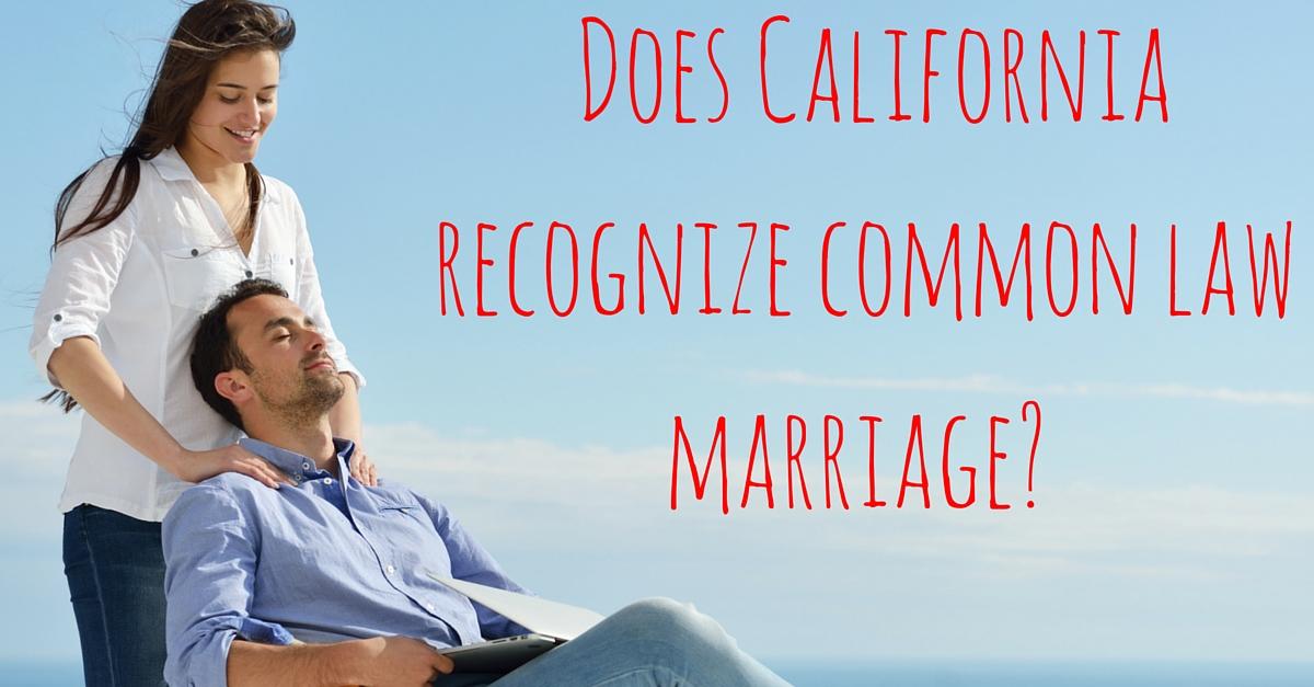 California common law marriage 2014